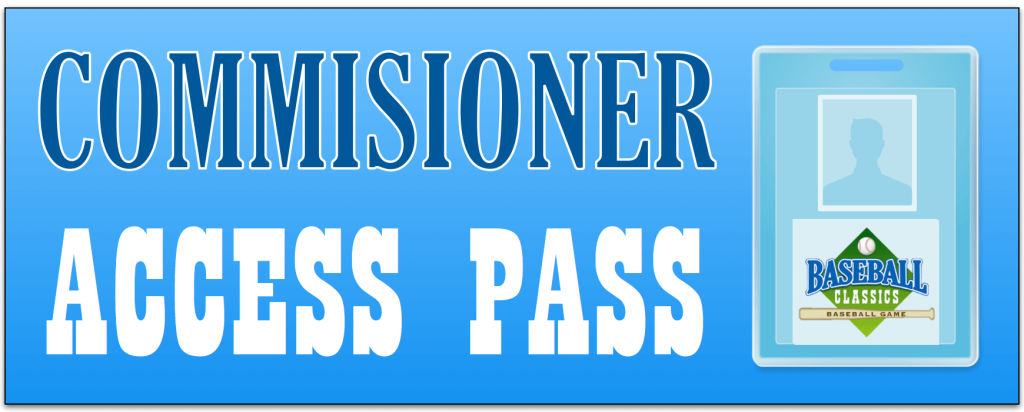 commissioner access pass h